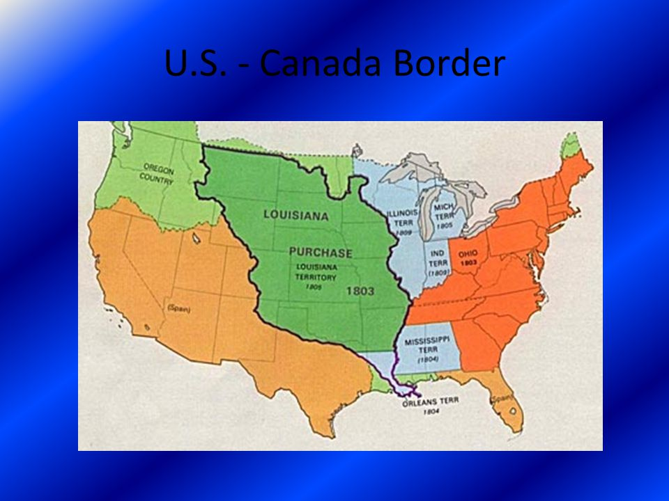 U.S. - Canada Border