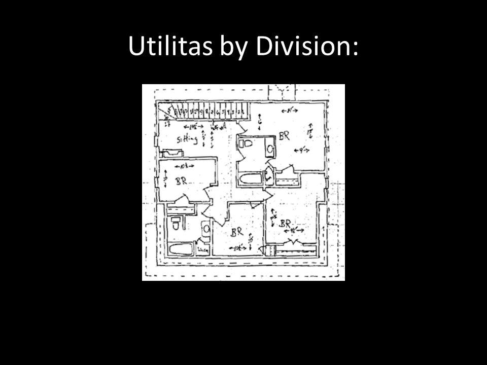 Utilitas by Division:
