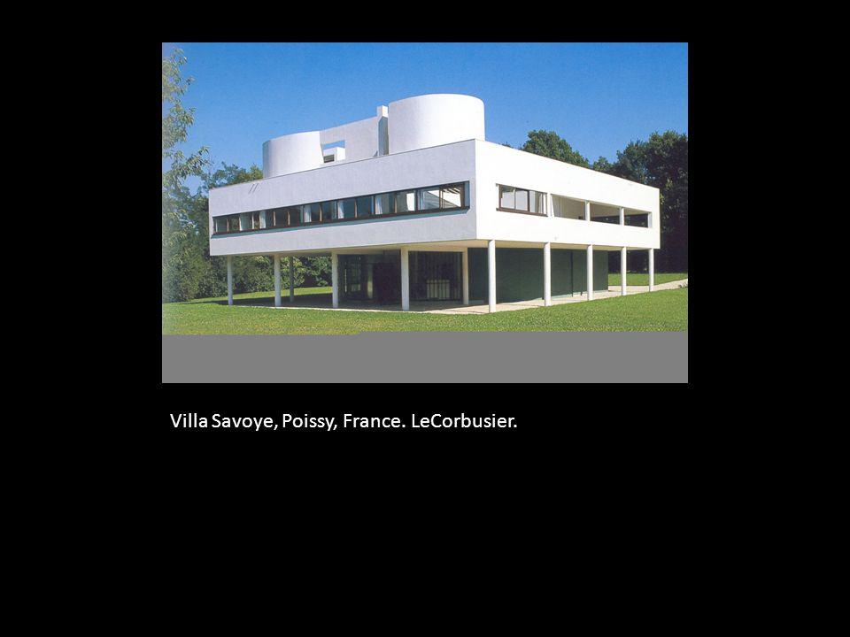 Villa Savoye, Poissy, France. LeCorbusier.