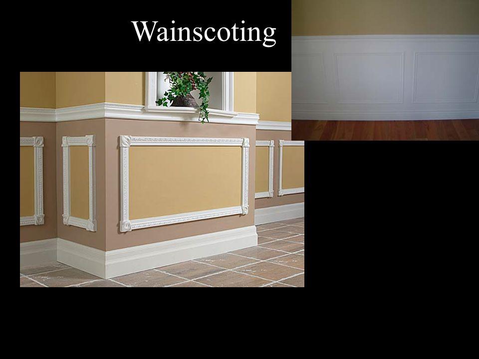 Wainscoting
