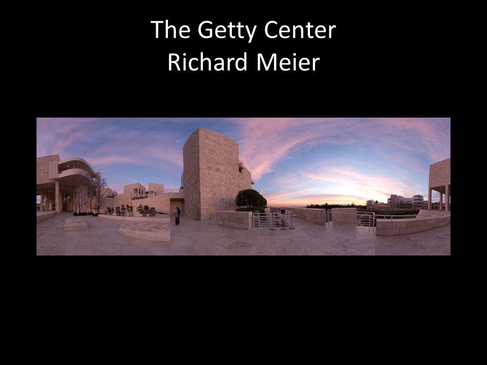 The Getty Center Richard Meier