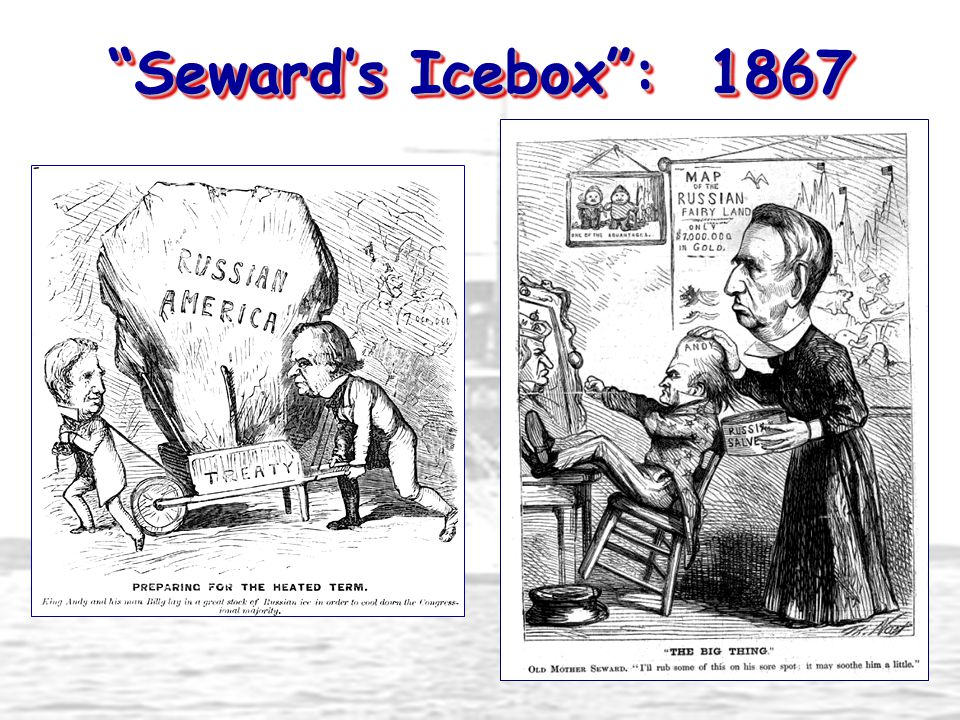 """Seward's Icebox"": 1867"