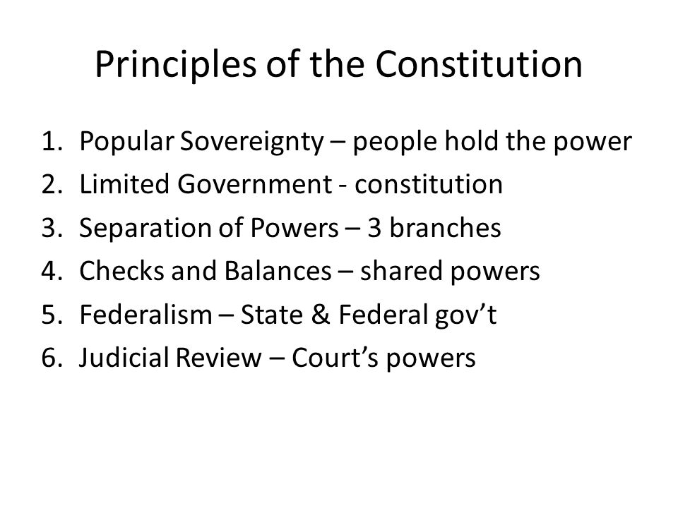 Ratification of the Constitution Federalist vs.
