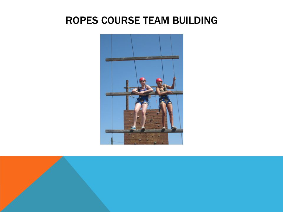 ROPES COURSE TEAM BUILDING