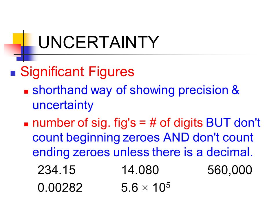 UNIT 0 QUIZ PREVIEW Concepts Covered: metric system: units, prefixes & conversions accuracy, precision & significant figures math skills – algebra, scientific notation, estimation, types of graphs.