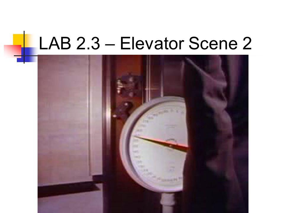 LAB 2.3 – Elevator Scene 2