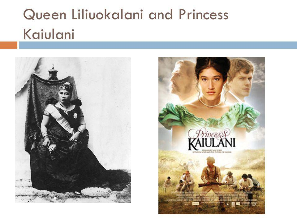 Queen Liliuokalani and Princess Kaiulani