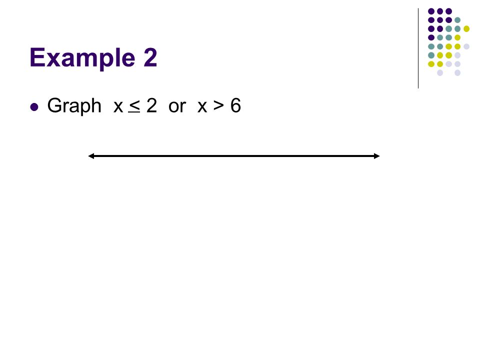 Example 2 Graph x 6