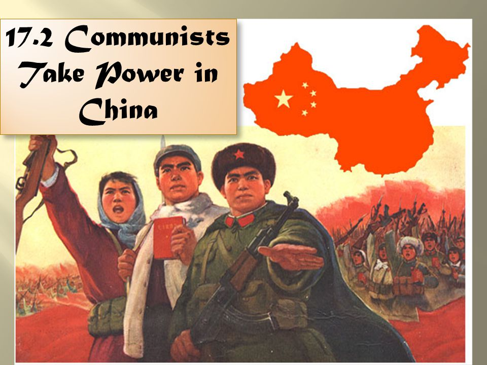  China was in a Civil War between the Nationalists & Communists  Japan invaded in 1937 and both groups united to fight against the Japanese during WWII