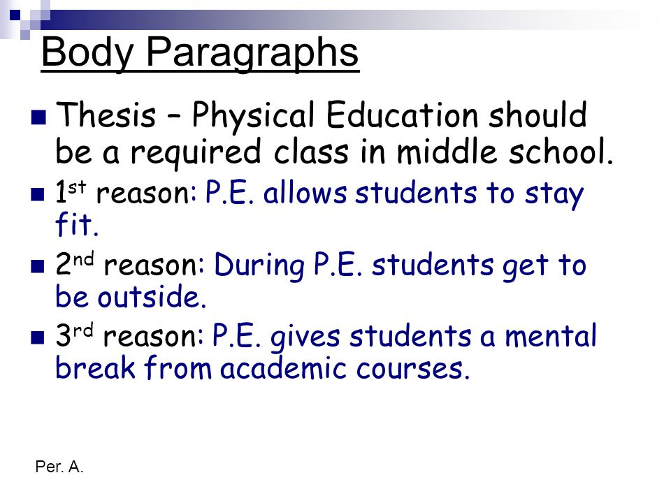 physical education essay titles An essay and speech on the importance of physical education in our life why physical education is important in schools and students' life.