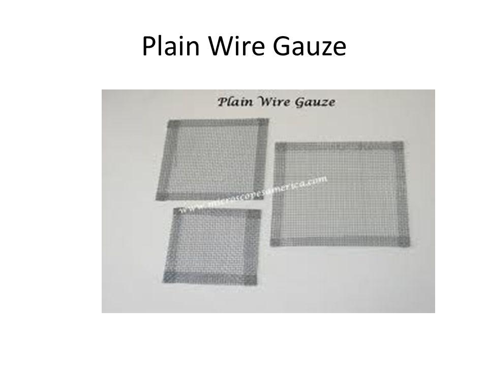 Plain Wire Gauze