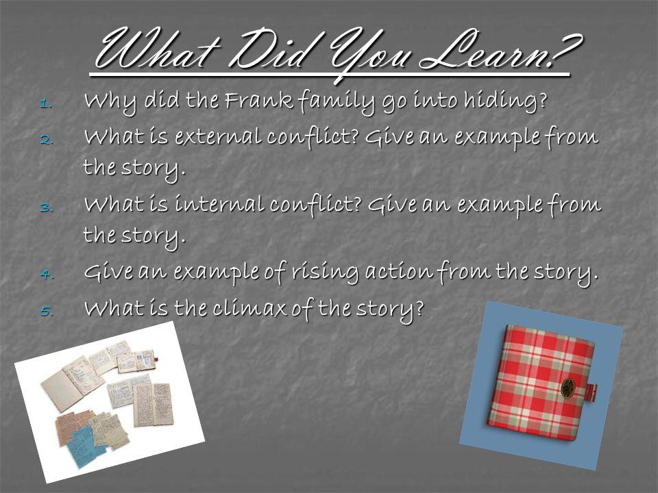 Interesting Links Anne Frank Museum Amsterdam Anne Frank Museum Amsterdam http://www.annefrank.org/content.asp?pid=1&lid=2 http://www.annefrank.org/content.asp?pid=1&lid=2 http://www.annefrank.org/content.asp?pid=1&lid=2 Anne Frank Center Anne Frank Center http://www.annefrank.com/ http://www.annefrank.com/ http://www.annefrank.com/ Miep Gies Miep Gies http://www.auschwitz.dk/Miepgies.htm http://www.auschwitz.dk/Miepgies.htm http://www.auschwitz.dk/Miepgies.htm Simon Wiesenthal Center Simon Wiesenthal Center http://www.wiesenthal.com/site/pp.asp?c=fwLYKnN8Lz H&b=242023 http://www.wiesenthal.com/site/pp.asp?c=fwLYKnN8Lz H&b=242023 http://www.wiesenthal.com/site/pp.asp?c=fwLYKnN8Lz H&b=242023 http://www.wiesenthal.com/site/pp.asp?c=fwLYKnN8Lz H&b=242023