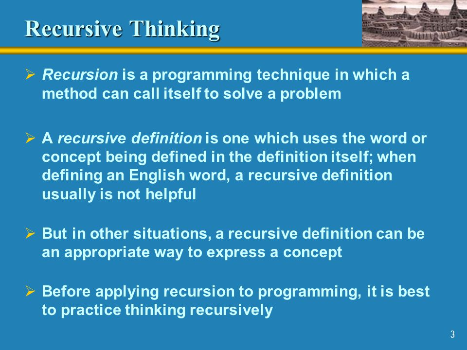 14 Recursion vs.