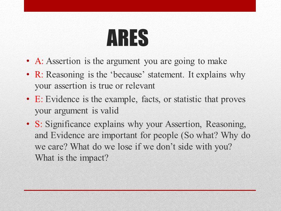 Refuting Arguments Rebuttal is an important part of debate.