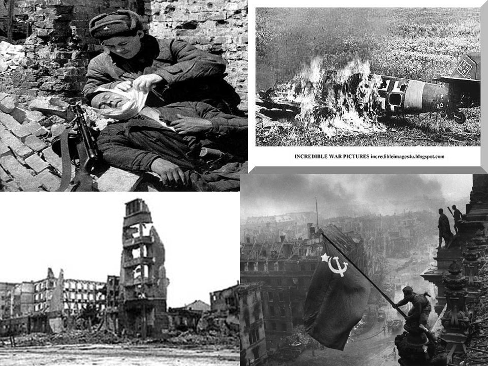 Invasion of Italy (July 10, 1943)  Roosevelt & Churchill Choose to invade Italy  Allied forces took Southern Italy  Germans seized Northern Italy  Fighting continues until Germany fell in May 1945  Mussolini found in back of a truck disguised as a German soldier  Shot him the next day & hung his body in downtown Milan for all to see