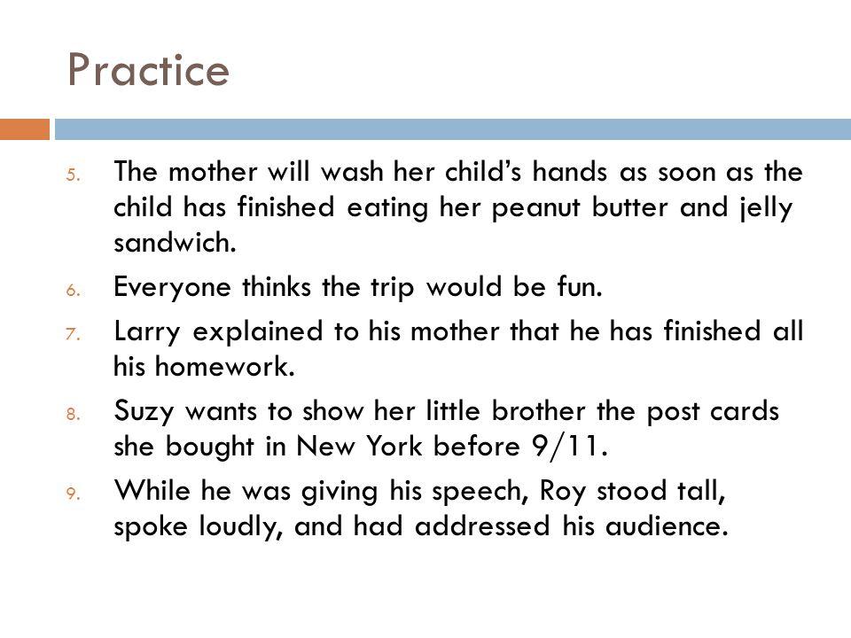 Practice 5.