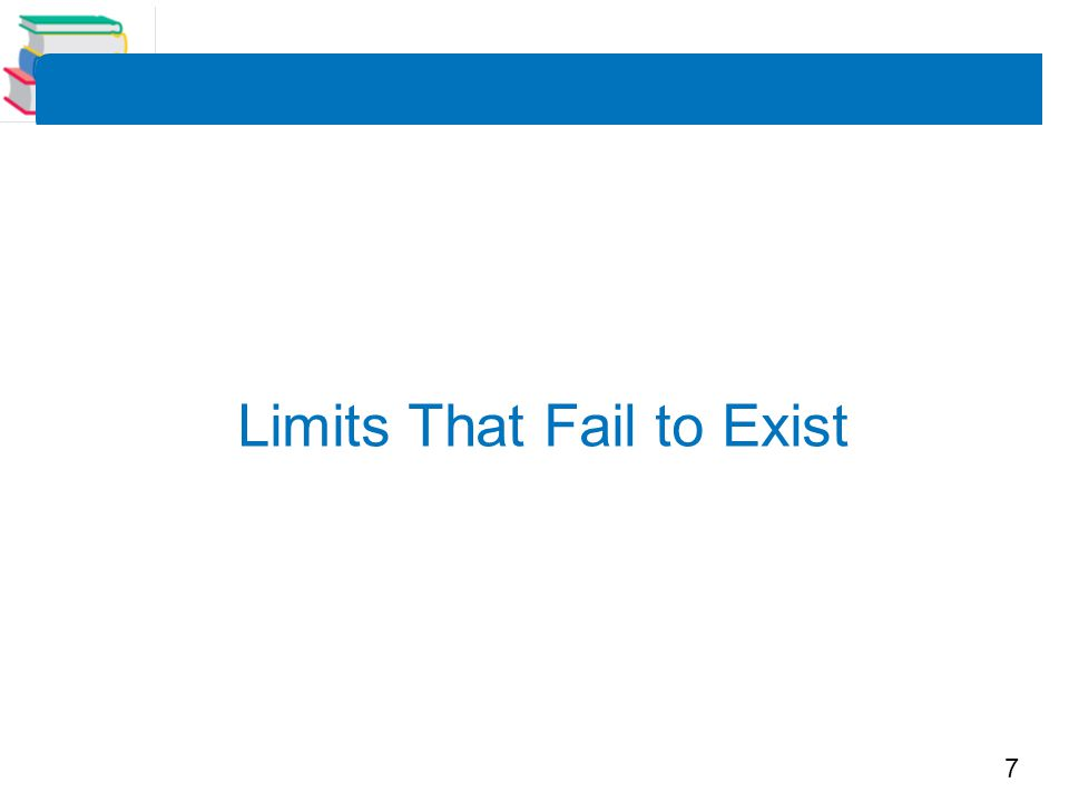 8 Example 6 – Comparing Left and Right Behavior Show that the limit does not exist.