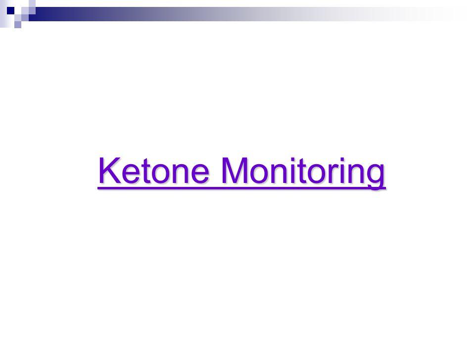 Ketone Monitoring