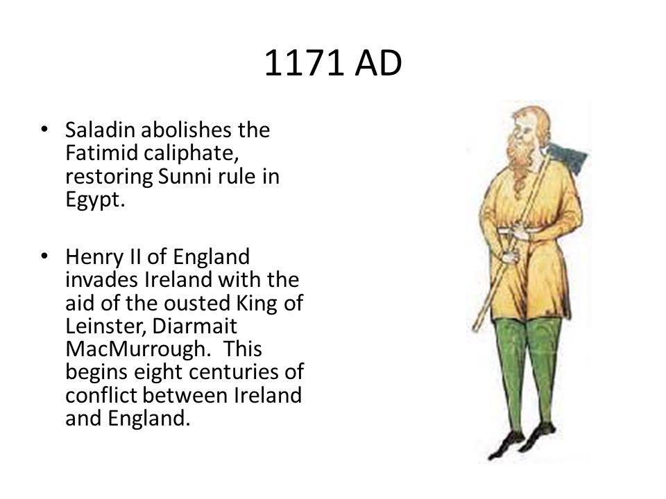 1174 AD Saladin captures Damascus.