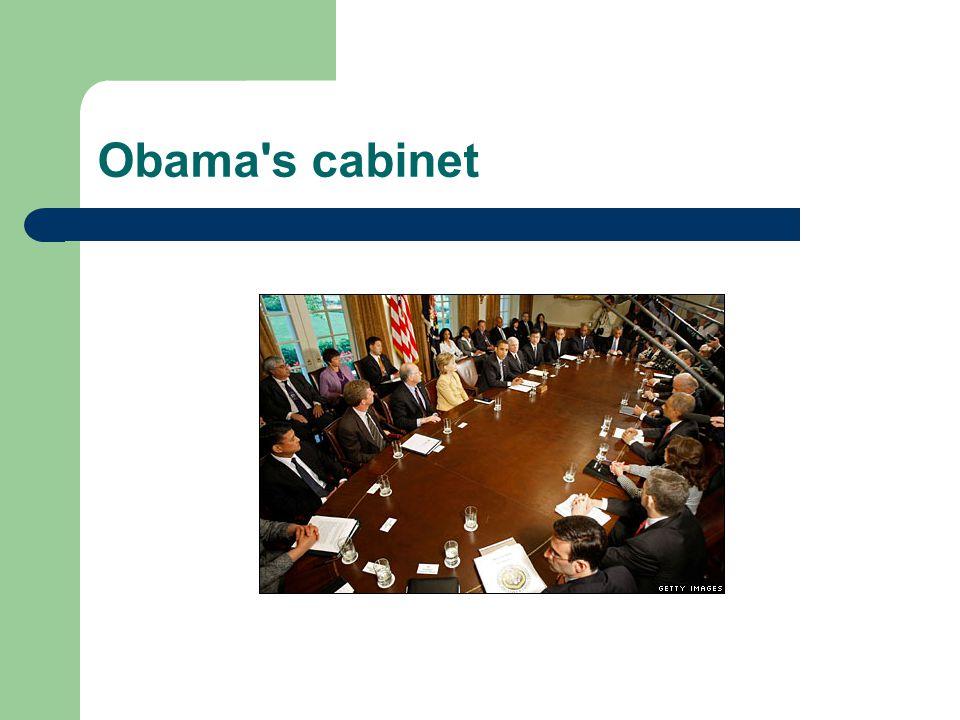 Obama s cabinet