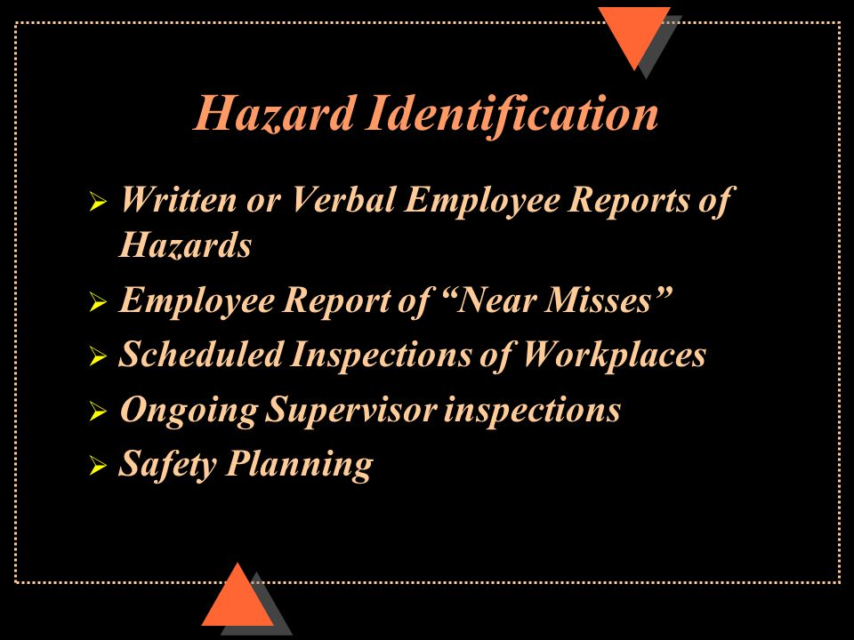 Safety Communication  Employee Safety Meetings  Department Safety Representatives (DSR)  County Wide Safety Committee  Incident/Hazard Reports  Posters and Newsletters