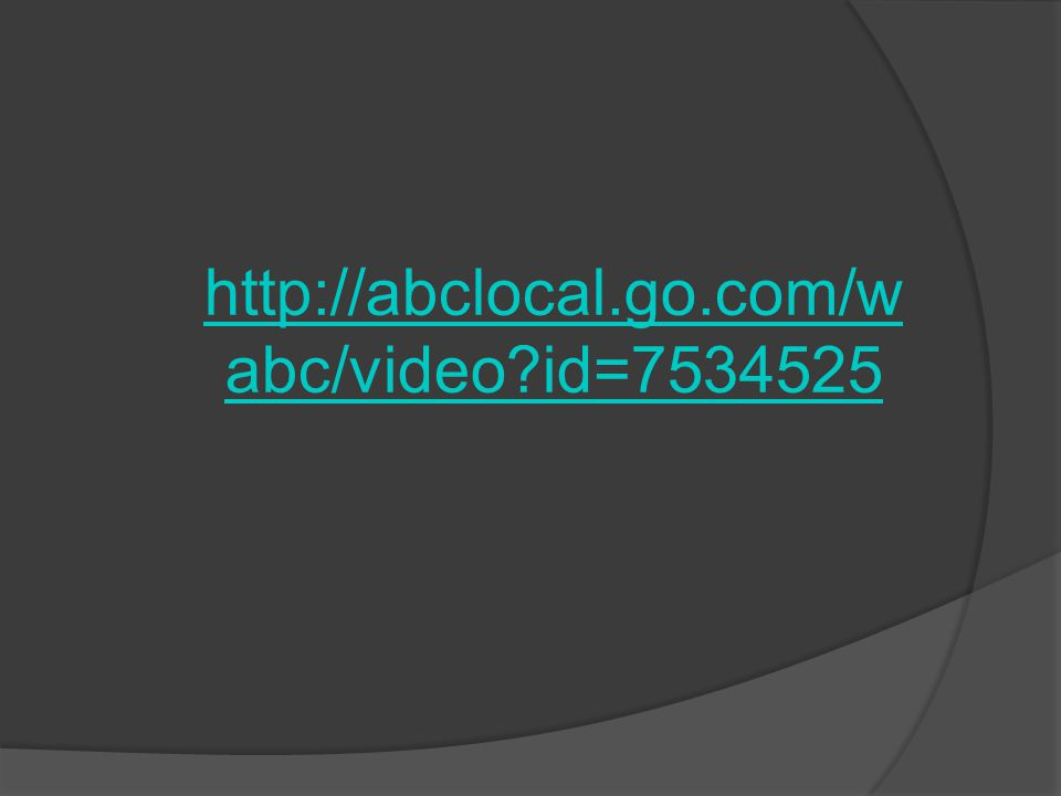 http://abclocal.go.com/w abc/video id=7534525