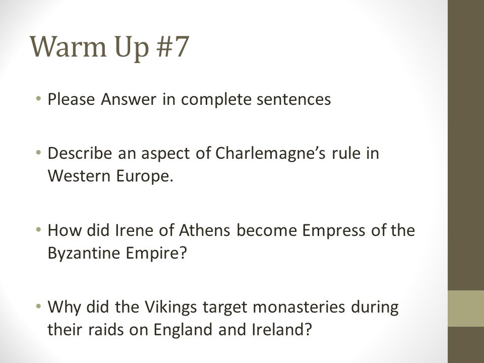 European History: 845-936 AD Fury of the Norsemen, The origin of Russia and some great nicknames