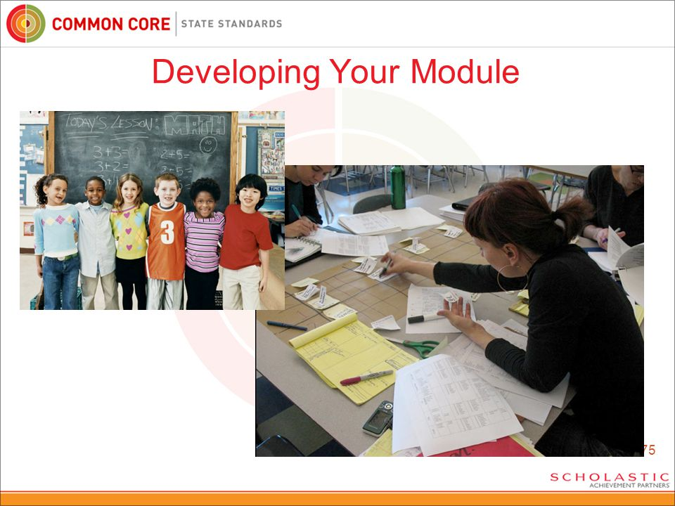 75 Developing Your Module