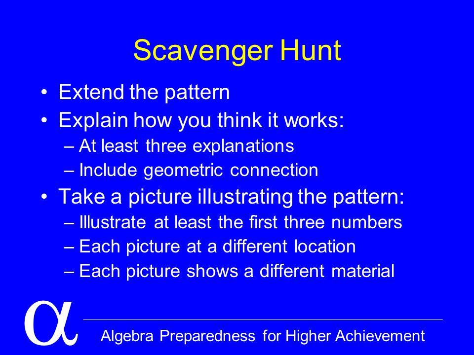  Algebra Preparedness for Higher Achievement Norms