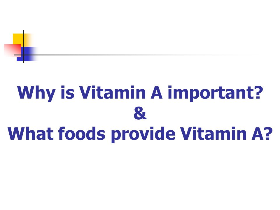 Why is Vitamin C important? & What foods provide Vitamin C?