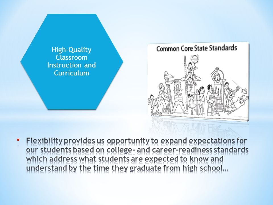 High-Quality Classroom Instruction and Curriculum
