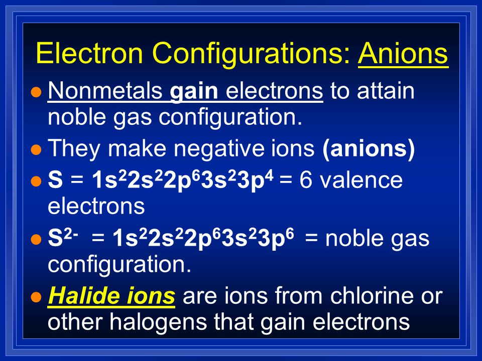 Electron Dots For Cations l Silver did the best job it could, but it did not achieve a true Noble Gas configuration l Instead, it is called a pseudo-noble gas configuration