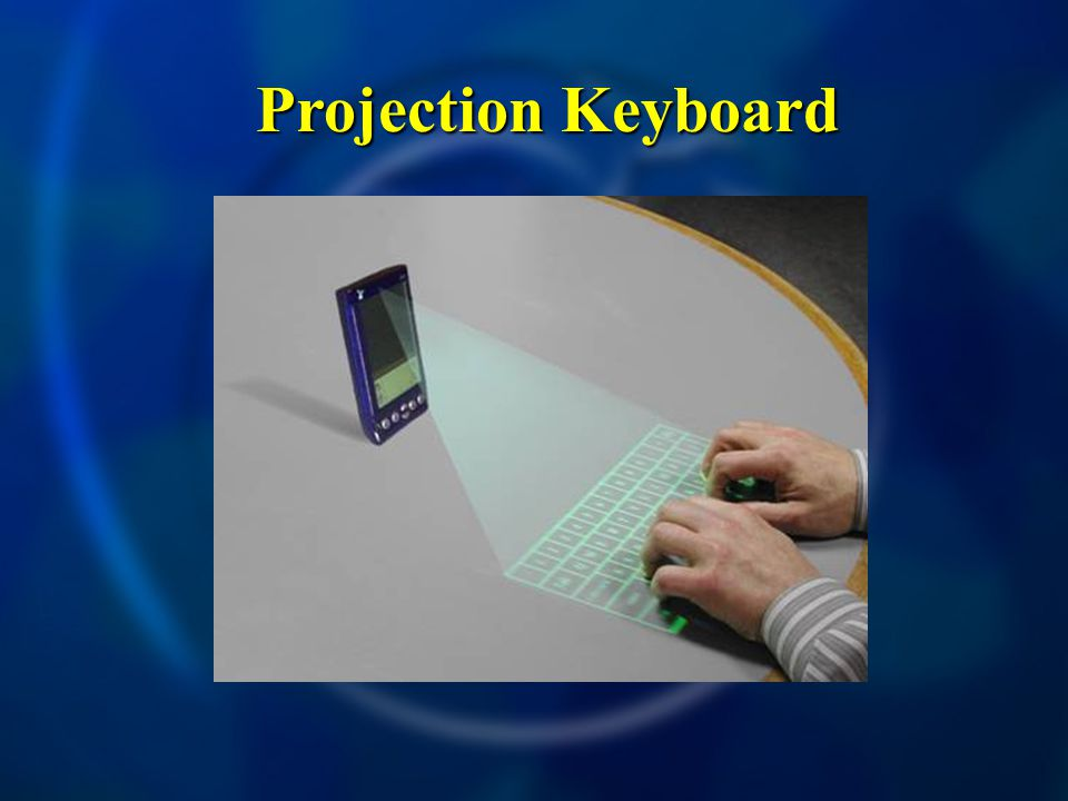 Projection Keyboard