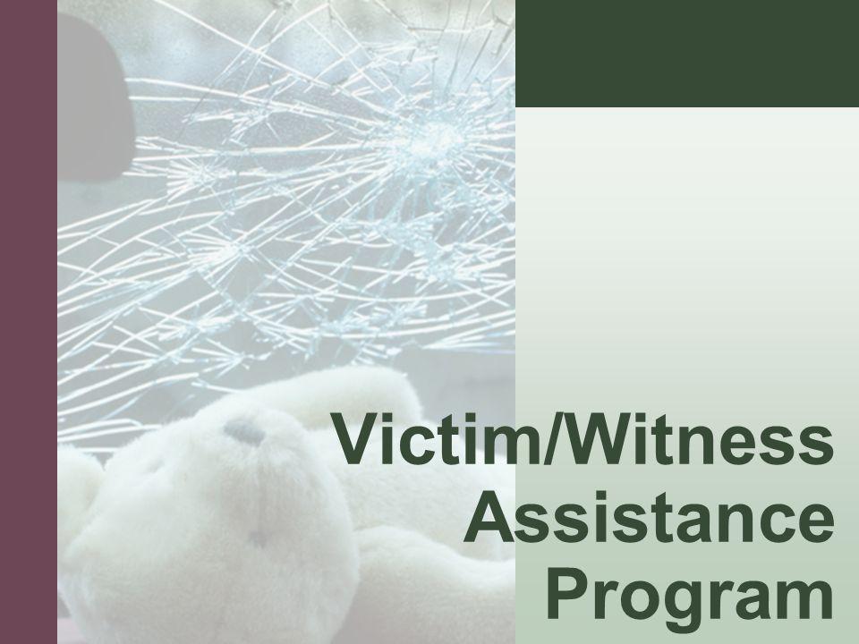#4 Victim/Witness Assistance Program