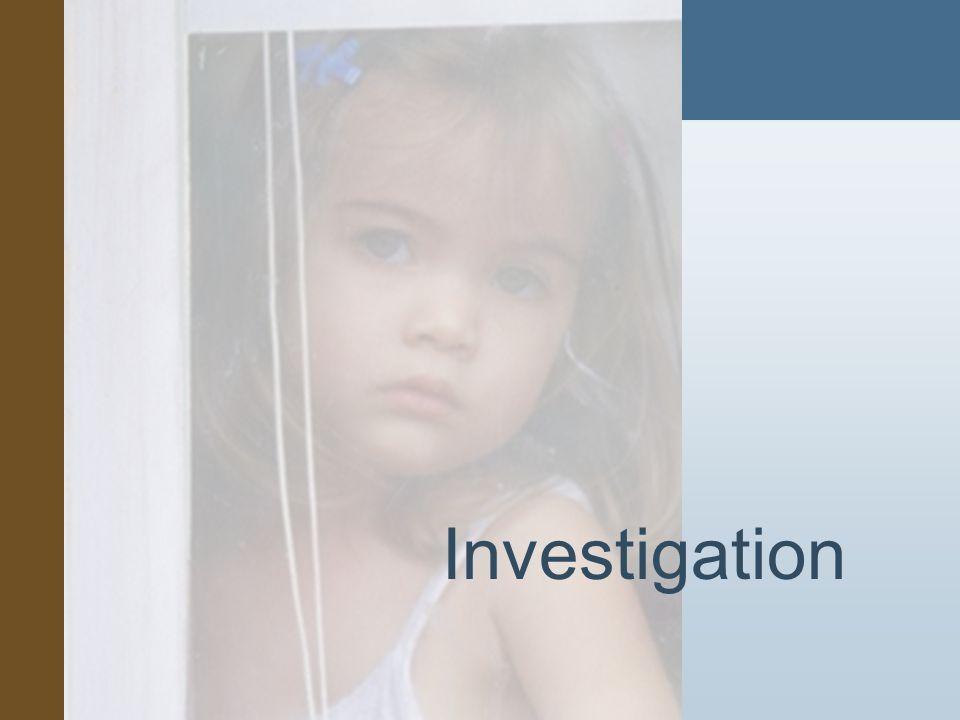 #3 Investigation