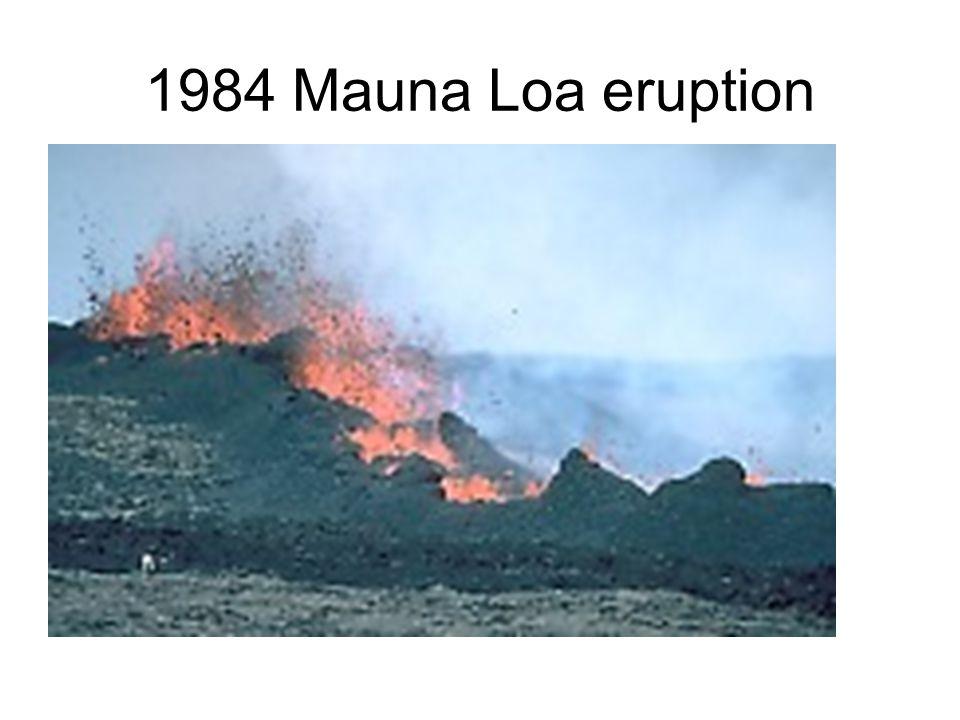 1984 Mauna Loa eruption