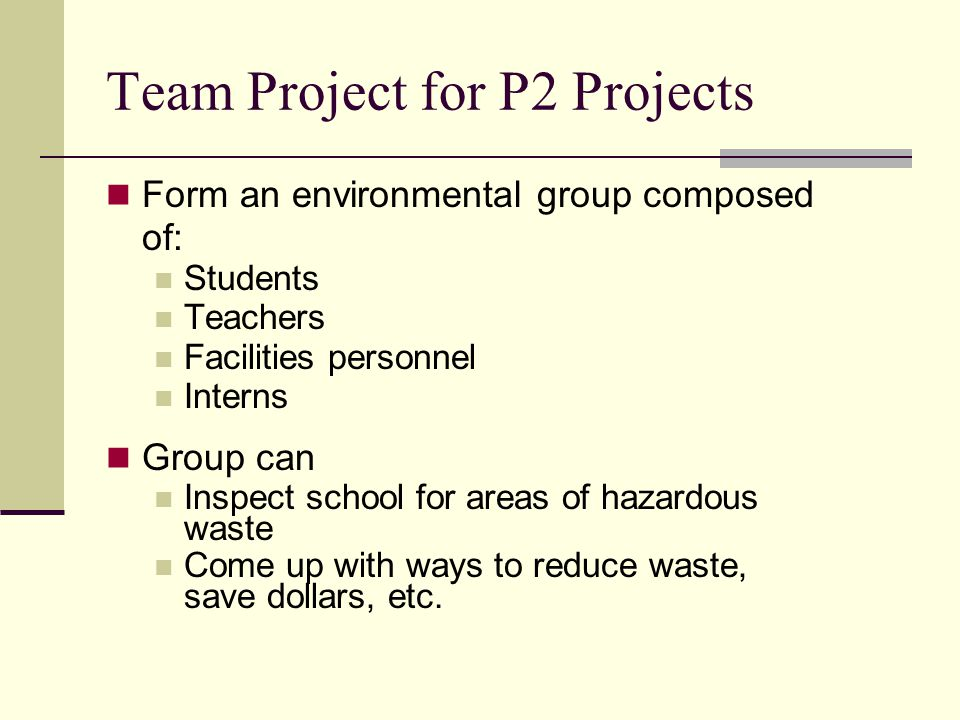 Curriculum Get students involved Add waste management to project & learning Teach students what happens to waste Encourage brainstorming for how to minimize waste Businesses work on this daily