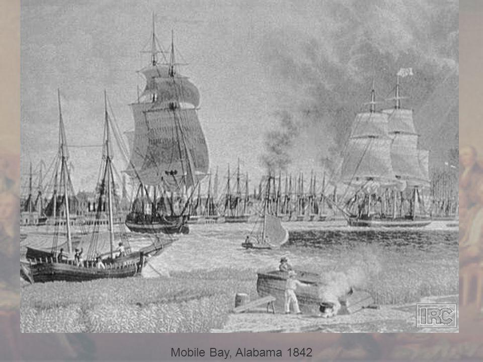 Mobile Bay, Alabama 1842