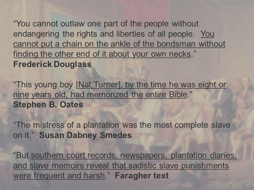 """""""You cannot outlaw one part of the people without endangering the rights and liberties of all people. You cannot put a chain on the ankle of the bonds"""