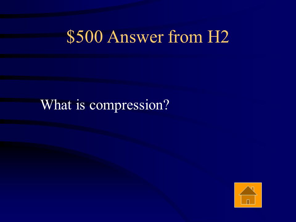 $500 Question from H2 Reverse faults are caused by this type of stress. Answer