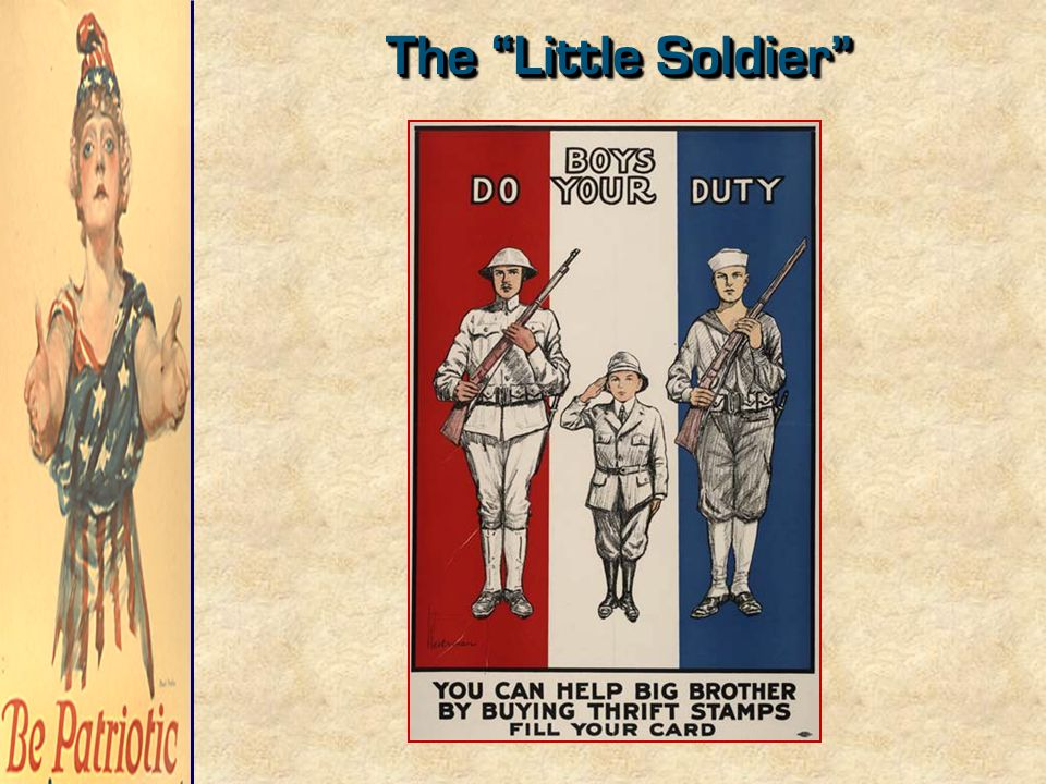 """The """"Little Soldier"""""""