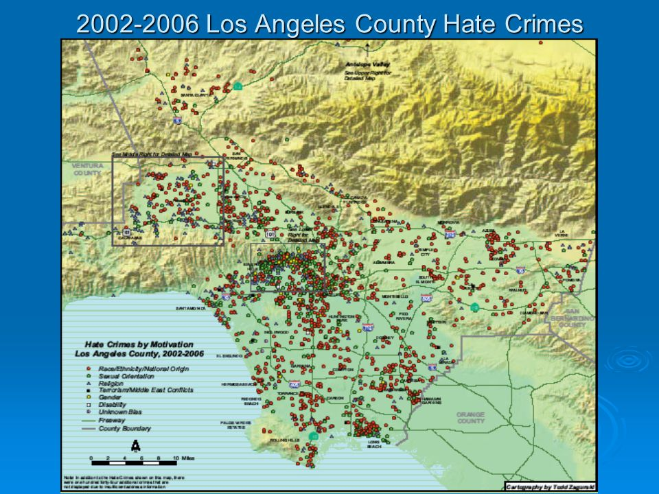 2002-2006 Los Angeles County Hate Crimes