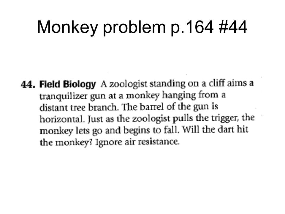 Monkey problem p.164 #44