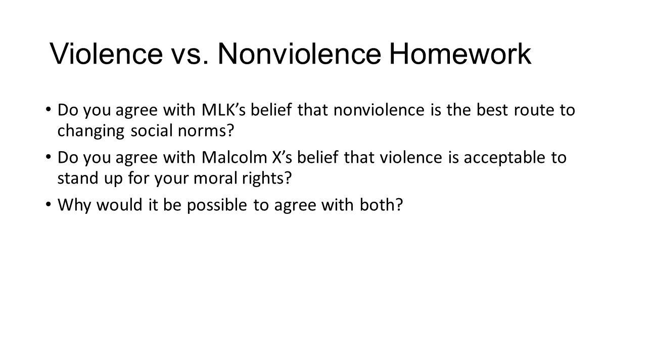 Violence vs.
