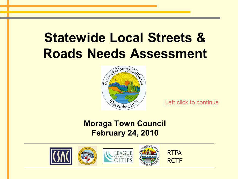 Funding Shortfall for Moraga Moraga has a funding shortfall of $55.4M.