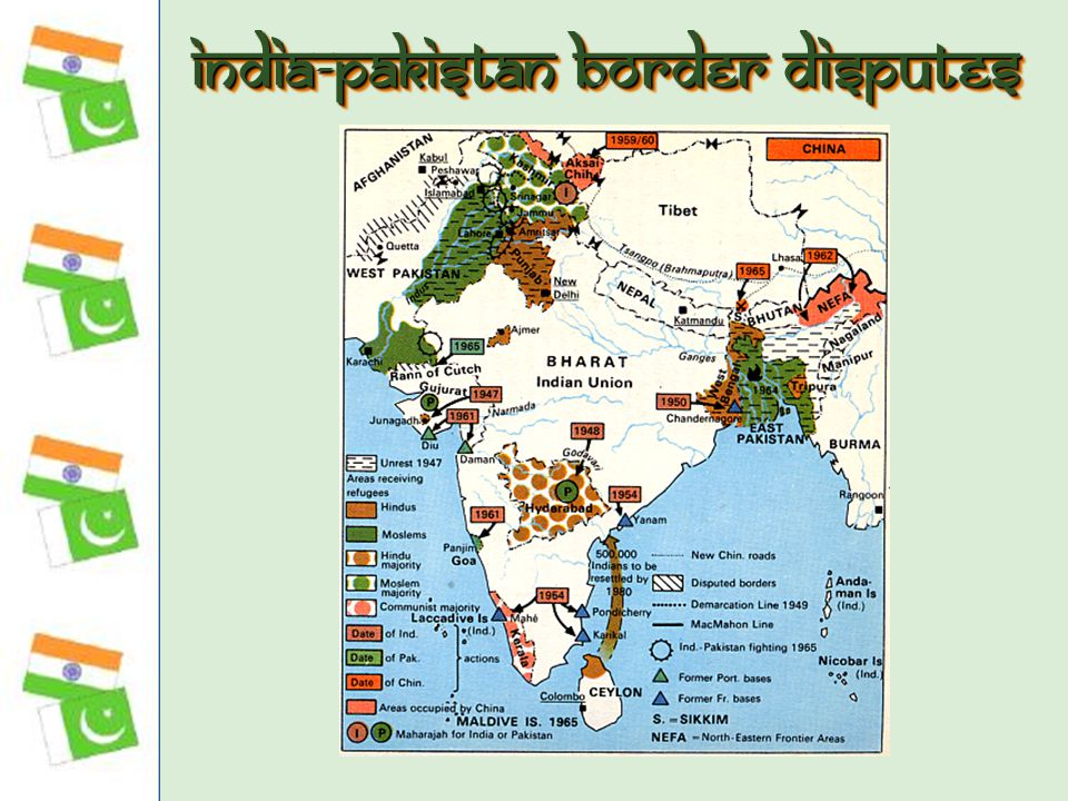 India-Pakistan Border Disputes
