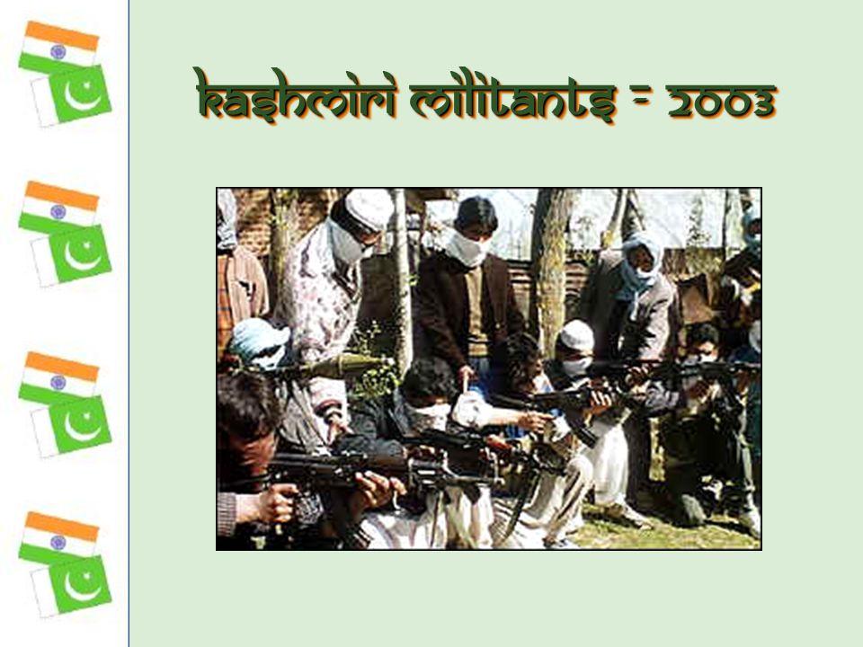 Kashmiri Militants - 2003