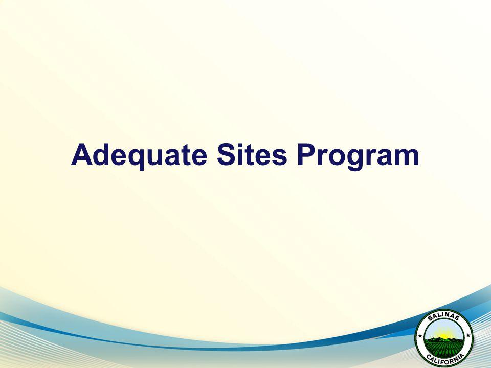Adequate Sites Program