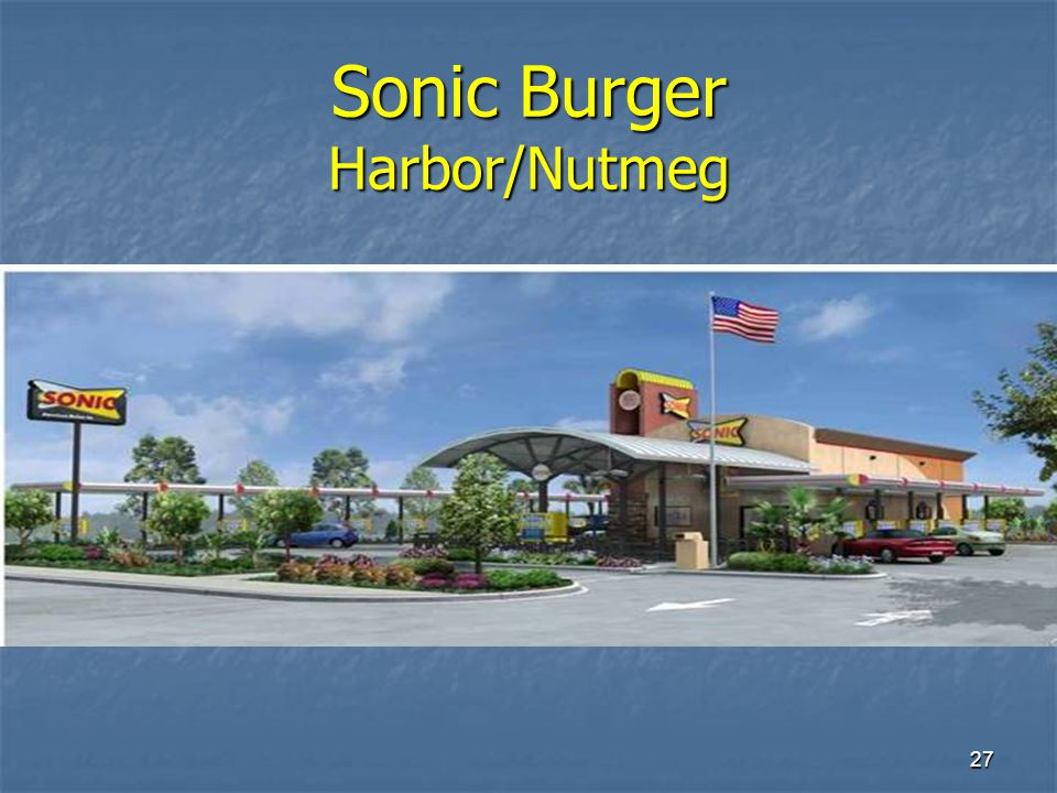 27 Sonic Burger Harbor/Nutmeg