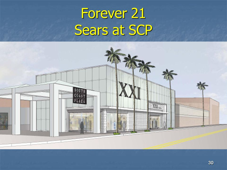 30 Forever 21 Sears at SCP